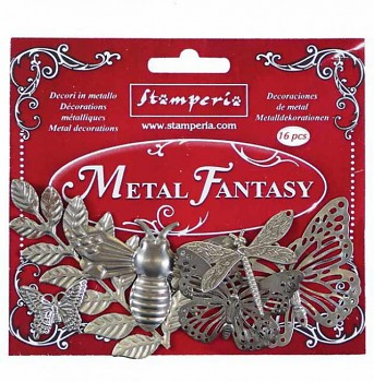 Metal Fantasy selection Nature - 16 pcs