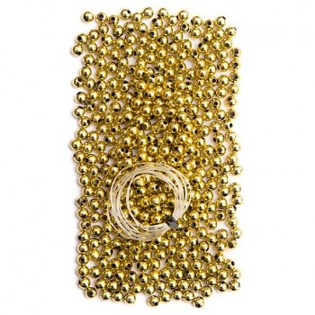 Perlen 5mm / 40g / gold