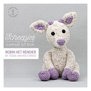 Crochet pattern Sweetheart Soft Brush