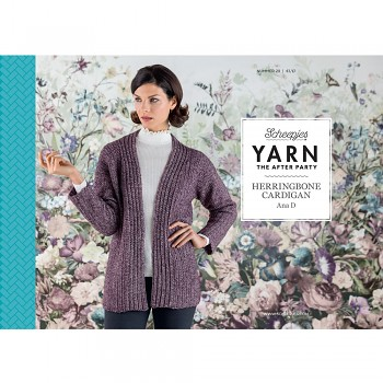 Yarn the After Party no.29 - Herringbone Cardigan UK