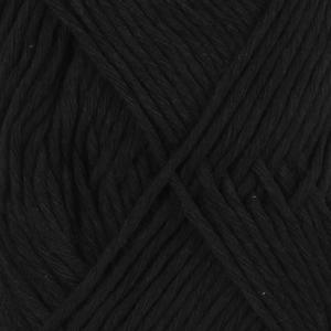 DROPS Cotton Light / 50g - 105m / 20 black