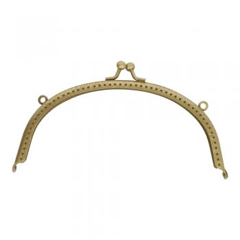 Rámček na výrobu kabelky 17cm / antic gold