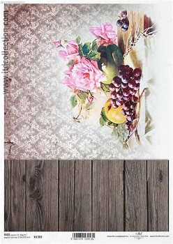 Rice decoupage paper A4 / ITD R1382