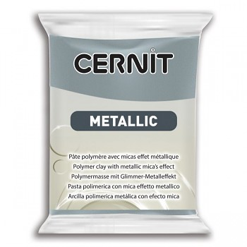 Cernit Metallic / 56g / steel / 167