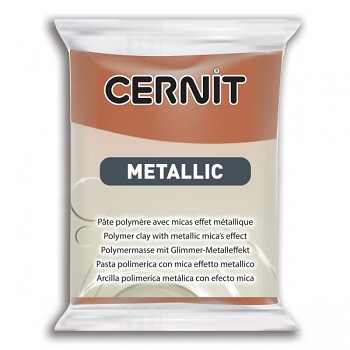 Cernit Metallic / 56g / bronze / 058