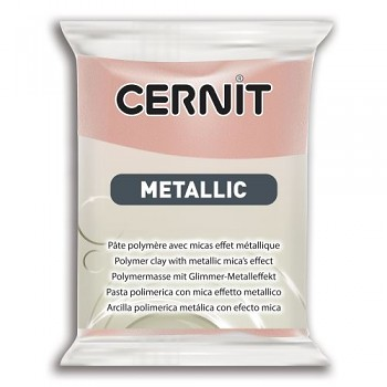 Cernit Metallic / 56g / rose gold / 052