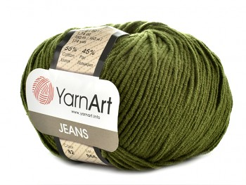 Yarn Jeans (Gina) / 50g / green 82