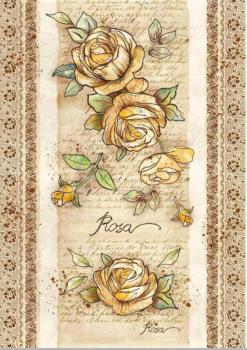 Ryžový papier na decoupage A3 / Flowers by Donatella Donatella Rose