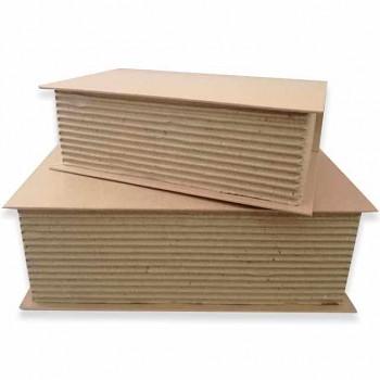 Set 2 book box cm. 29,7x21x9,5 - cm. 24x16x7,5