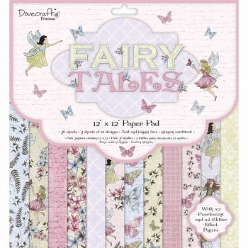 Fairy Tales / 12x12 / 36pcs / Paper Pack