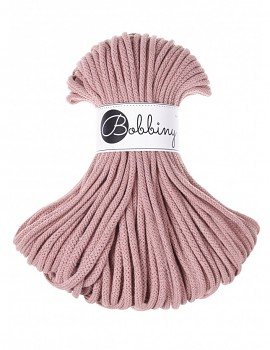 Bobbiny Cotton Cord Premium 5mm / 50m / Blush