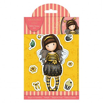 Rubber Stamps - Santoro Gorjuss - Bee-Loved