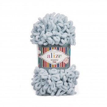 Alize Puffy Fine / 100g / 500 Grey