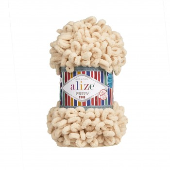 Alize Puffy Fine / 100g / 310 Honey