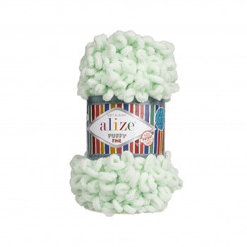 Alize Puffy Fine / 100g / 464 Mint