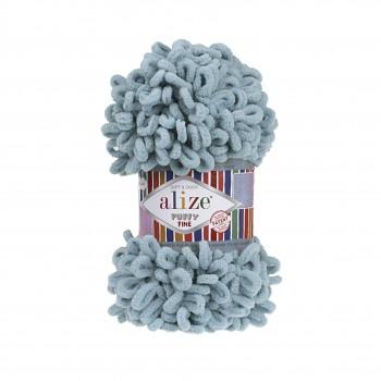 Alize Puffy Fine / 100g / 414 Azure