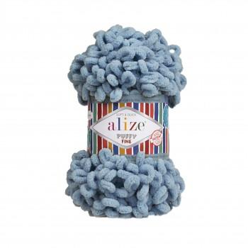 Alize Puffy Fine / 100g / 280 Dusk Blue
