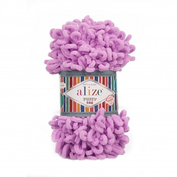 Alize Puffy Fine / 100g / 378 Orchid