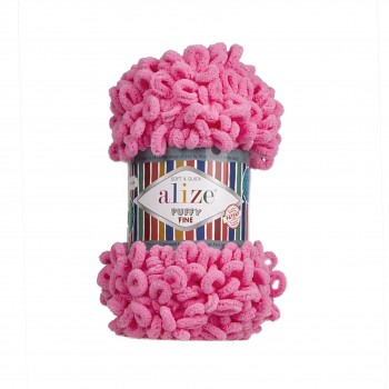 Alize Puffy Fine / 100g / 121 Cotton Candy