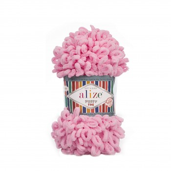 Alize Puffy Fine / 100g / 39 Pink