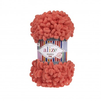 Alize Puffy Fine / 100g / 526 Pomegranate