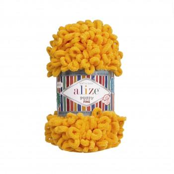 Alize Puffy Fine / 100g / 82 Mustard