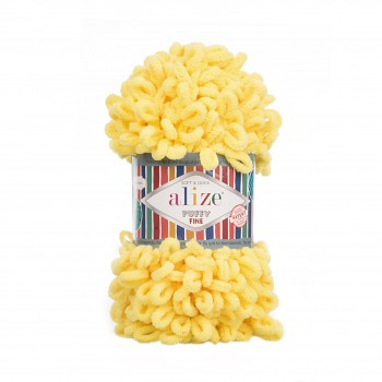 Alize Puffy Fine / 100g / 113 Yellow