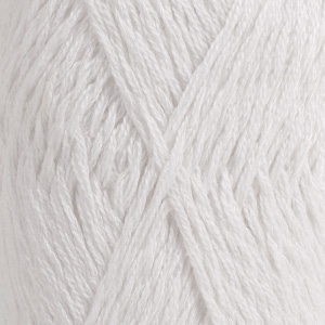 DROPS Belle / 50g - 120m / 01 white