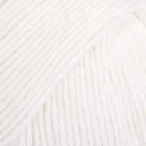 DROPS Baby Merino / 50g - 175m / 01 white