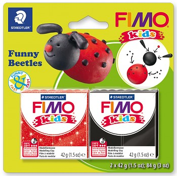 Sada Fimo Kids / Funny Beetles
