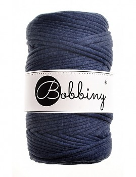 Bobbiny T-shirt Yarn / 60m / Navy blue melange