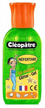Glitter gel Cleopatre 100ml / green