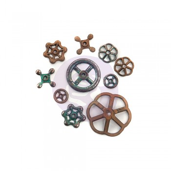 Mechanicals Rustic Knobs 10 St.