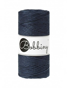 Macramé cord / 3mm / 100m / Navy Blue