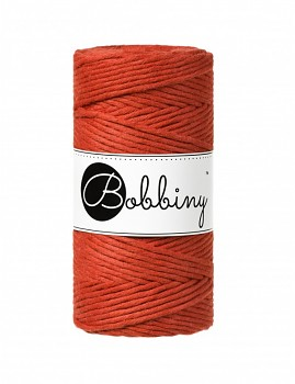 Macramé cord / 3mm / 100m / Burnt Orange