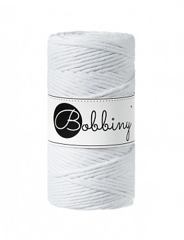 Macramé cord / 3mm / 100m / White