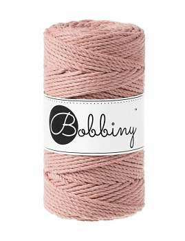 Macramé cord 3ply / 3mm / 100m / Blush