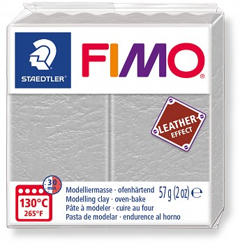 Fimo LEATHER dove gray (809)