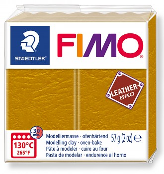 Fimo LEATHER ochre (179)