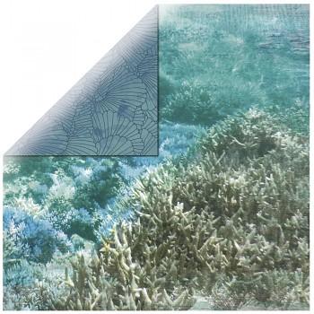 "Deep sea / 12x12"" / Barrier Reef"