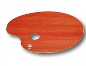 Maliarska paleta drevená / 18x24cm