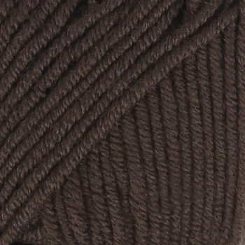 DROPS Merino Extra Fine / 50g - 105m / 09 dark brown