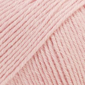 DROPS Cotton Merino / 50g - 110m / 05 powder pink