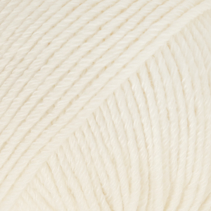 DROPS Cotton Merino / 50g - 110m / 01 white