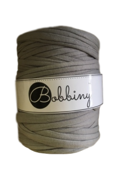 Bobbiny T-shirt Yarn / 120m / Grey