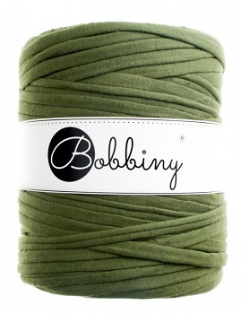 Bobbiny T-shirt Yarn / 120m / Olive green
