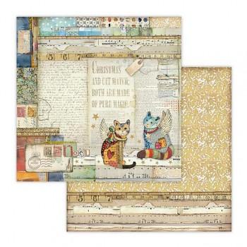 Scrapbookový papier / 12x12 / Paper Cats