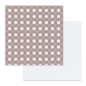 Scrapbookový papier / 12x12 / Texture polka dots