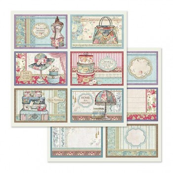 Scrapbookingpapier / 12x12 / 6 Frame decorations