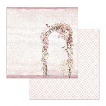 Scrapbookingpapier / 12x12 / Flowered arch